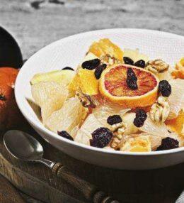 Obstsalat Pomelo, die Vitamin Bowl mit Pomelo & Co!