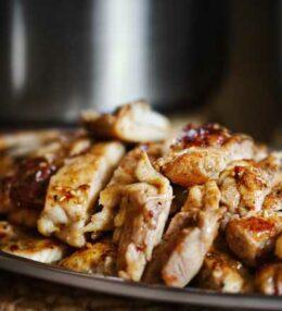 Sweet Chili Sesam Chicken, einfach und mit wenig Aufwand!