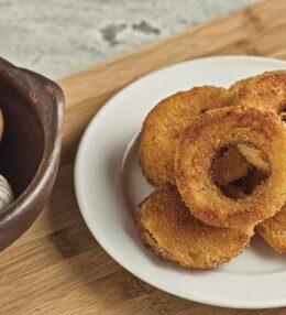 Gebackene Zwiebel, einfach gemacht, nicht nur ein Snack!