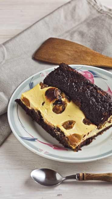 Mascarpone Kriecherl Kuchen Abbildung 1