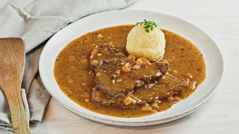 Rindschnitzel in Gemüsesaft Rezept