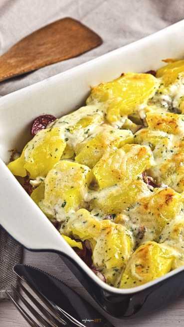 pikanter Kartoffel Auflauf Abbildung 1