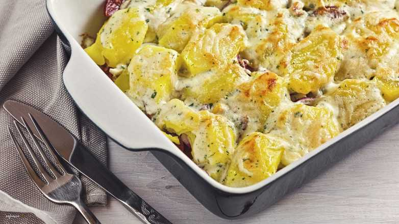 pikanter Kartoffel Auflauf Rezept