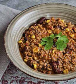 Chili Con Carne Eintopf, auf unsere Art, einfach und schnell, Genuss aus dem Topf