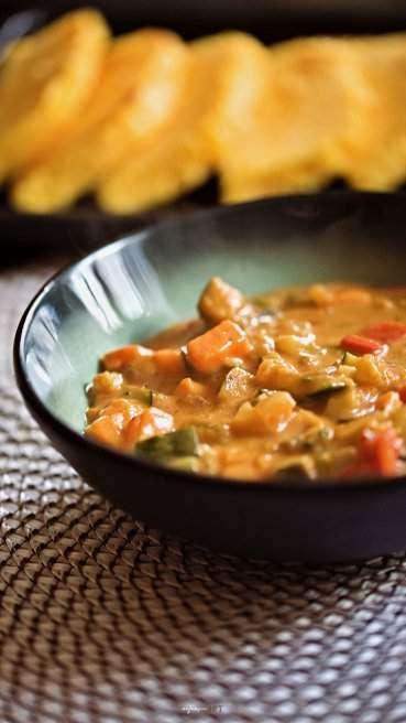 Gemuese Curry mit Polentaschnitten Abbildung 2