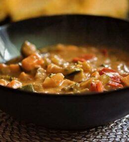 Gemüse Curry mit Polenta Schnitten, einfach 100% veganer Genuss für zu Hause