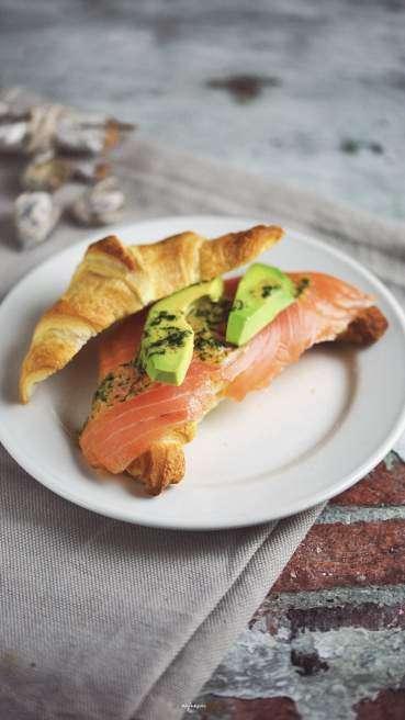 Lachs Croissant Abbildung 1