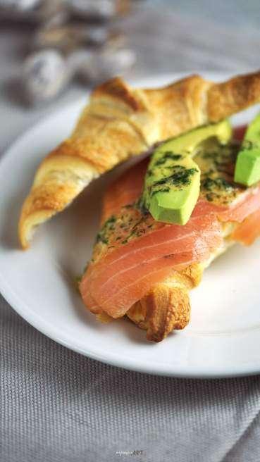 Lachs Croissant Abbildung 2