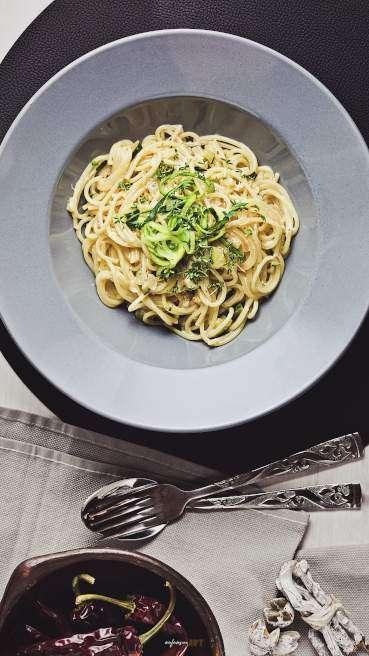 Spaghetti Zucchini Gorgonzola Abbildung 2