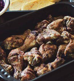 Jerk Chicken, Herkunft Jamaika – zubereitet im heimischen Ofen, ein Traum!