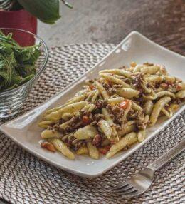 Paprika Hack Pasta, einfach und schnell gemacht, Ratz Fatz Küche