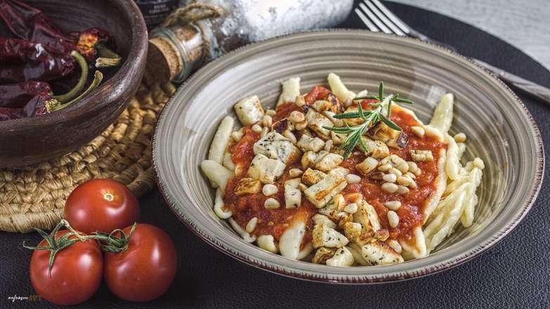 Rosmarin Tomaten Pasta Rezept