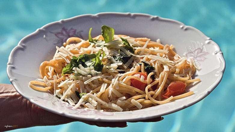 Sommer Spaghetti Rezept