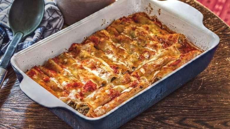 Cannelloni Pilzfüllung Rezept