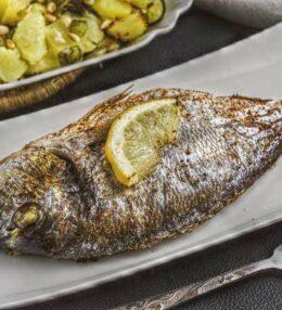 Ursalz Kräuter Dorade aus dem Ofen, wunderbar einfach und schnell gemacht!