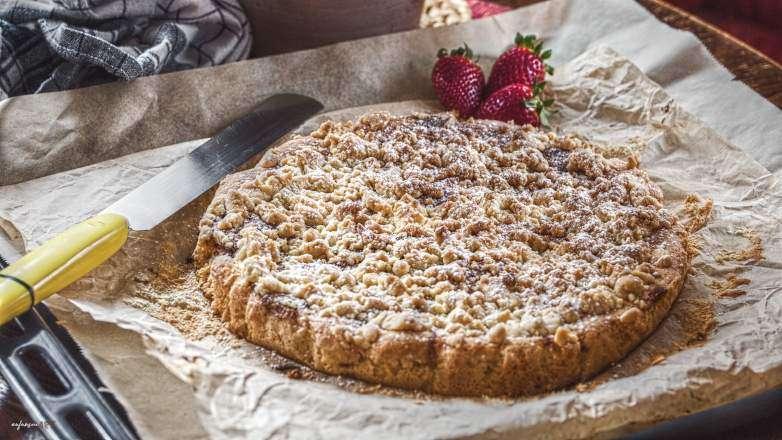 Erdbeer Marmor Streusel Kuchen Rezept