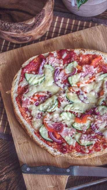 Fladenbrot Pizza Abbildung 2