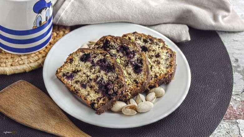 Heidelbeer Pistazien Kuchen Rezept