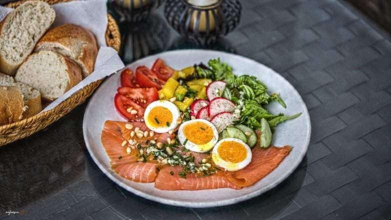 Salat Lachs Rezept