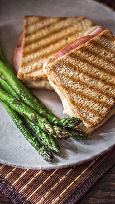 Spargel Toast Abbildung 1