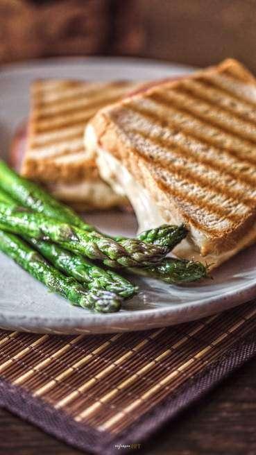 Spargel Toast Abbildung 2