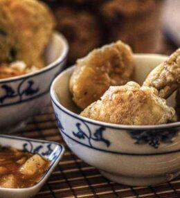 Tempura Teig Rezept und unsere liebsten Gerichte des Knuspermantels. Einfach!