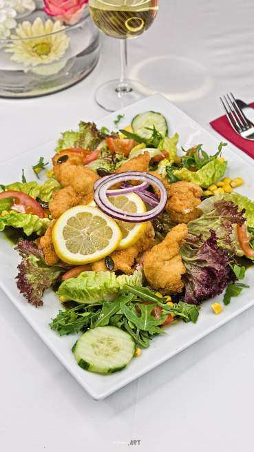 Salat Chicken Nuggets Abbildung 1