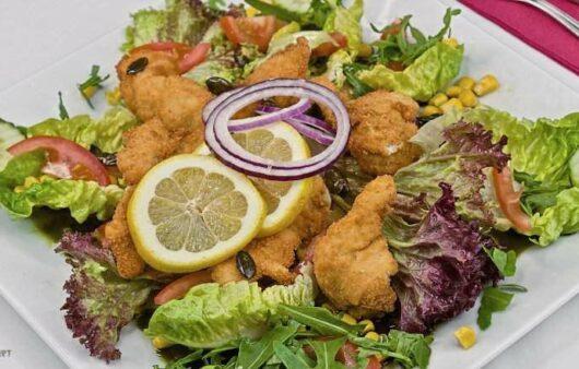 Salat Chicken Nuggets Rezept