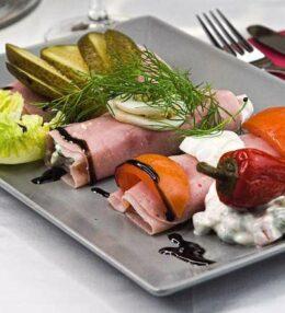 Schinkenrollen, klassisch mit Mayo, wunderbar einfach gezauberter Genuss!