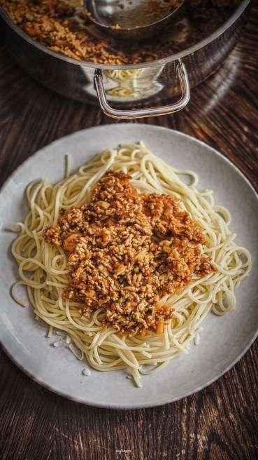 Spaghetti Bolognese Blitzversion Abbildung 1