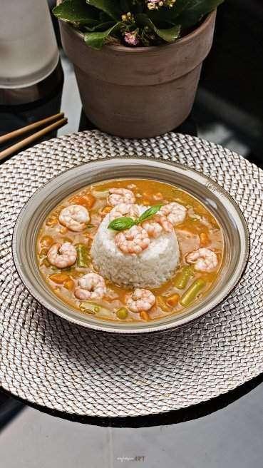 Spargel Garnelen Curry Abbildung 1