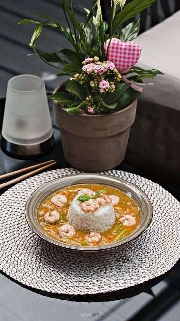 Spargel Garnelen Curry Abbildung 2