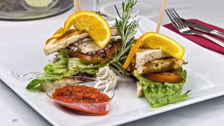 Hühner Sandwich Rezept