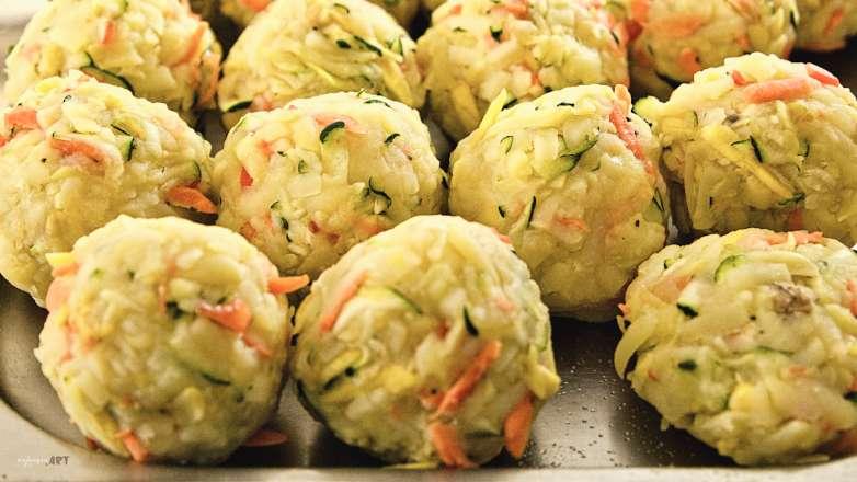 Kartoffel Gemüse Knödel Rezept