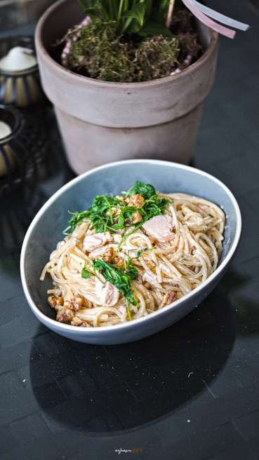 Lachs Spaghetti Abbildung 2