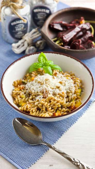 Gemüse Pasta Arrabiata Abbildung 1