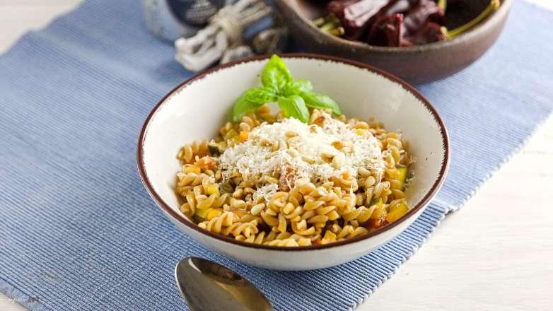 Gemüse Pasta Arrabiata Rezept