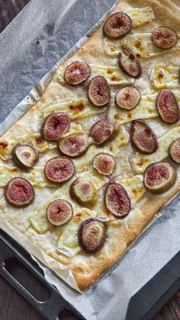 Grillteig Pizza Camembert Feige Abbildung 2