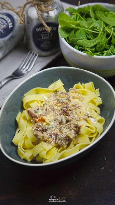 Tagliatelle Gorgonzola Tomate Abbildung 2